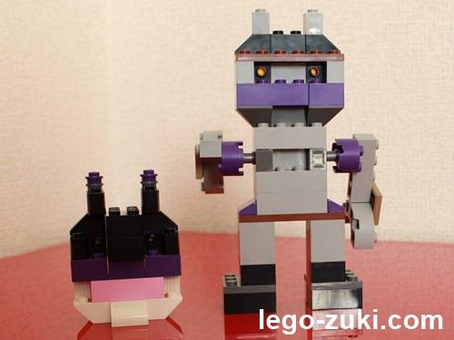 レゴ作品・ばいきんまん・ダランダン2