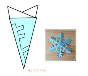 雪の結晶1-1