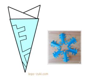 雪の結晶1-3
