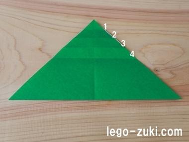 折り紙クローバー15
