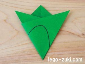 折り紙クローバー18