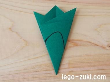 折り紙クローバー21