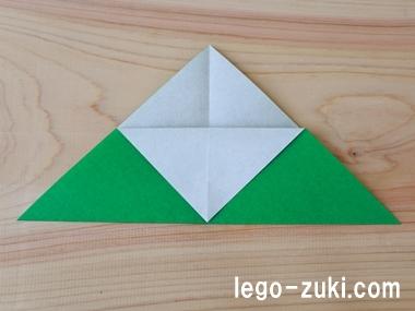折り紙クローバー12
