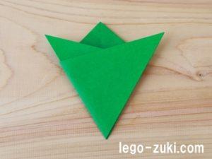 折り紙クローバー17