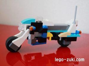 レゴクラシック 白バイ1-1