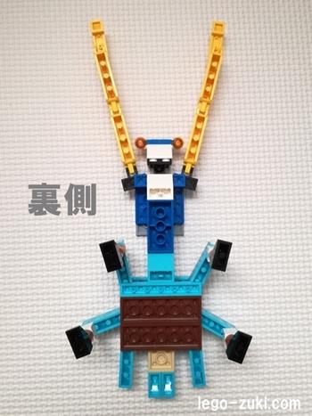 レゴ・カマキリ8