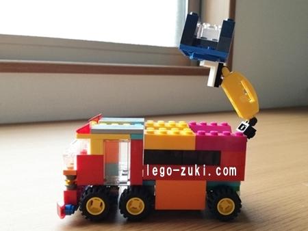 レゴはしご車3