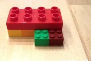 レゴデュプロとレゴブロックの互換性4