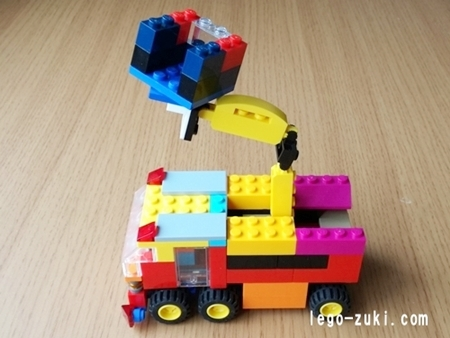 レゴはしご車5