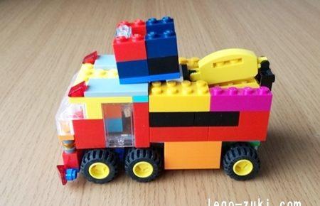 レゴはしご車4