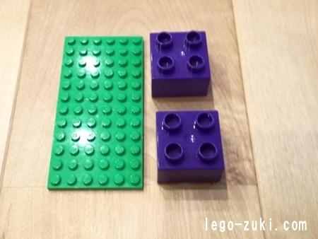 レゴデュプロとレゴブロックの互換性5