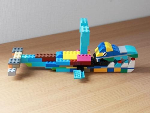 レゴクラシッククジラ3