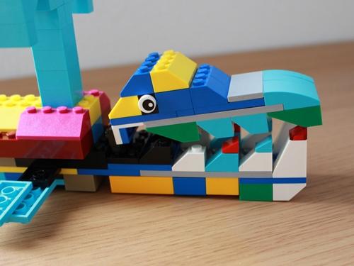 レゴクラシッククジラ4