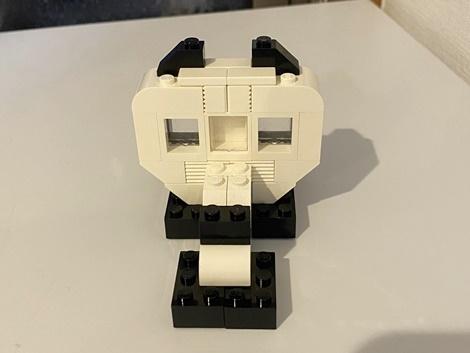 LEGOパンダ3