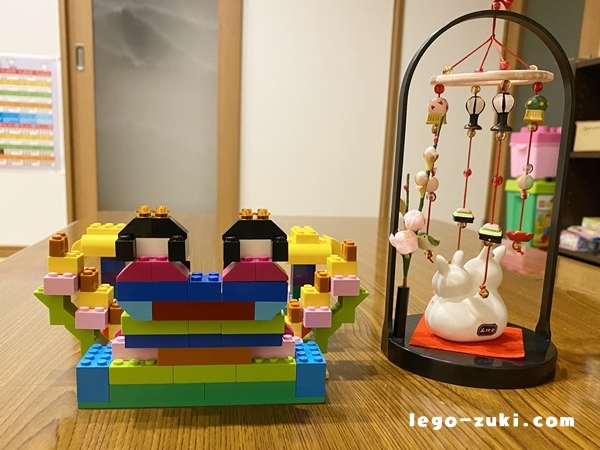 レゴお雛様6